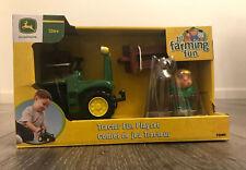 New In Box John Deere 1st Farming Toddler Fun Tractor Fun Play-set Horse Farmer