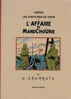 PASTICHE Tintin - L'Affaire de Mandchourie. Cartonné 48 pages couleurs.