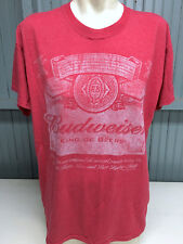 Budweiser Retro Red Medium Anheuser Busch T-Shirt