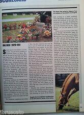 1989 SECRETARIAT DEATH TRIBUTE article PARIS KENTUCKY 10-17 Sports Illustrated