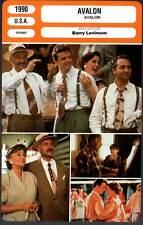 AVALON - Quinn,Perkins,Levinson (Fiche Cinéma) 1990