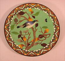 Schöne alte Cloisonne  Platte China 19 Jahrhundert