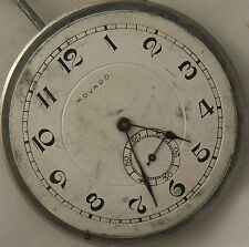 Movado Pocket Watch movement & Dial 40,5 mm. in diameter movement 23,5 mm.
