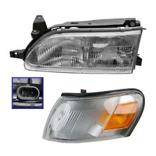 1993 - 1997 TOYOTA COROLLA HEADLIGHT AND CORNER LIGHT LAMP LEFT DRIVER