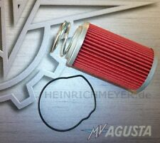 MV Agusta F4 Brutale Original Ölfilter-Kit ab 2010 NEU Genuine Oil Filter