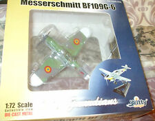 Witty Wings Sky Guardians 1:72 Scale WWII Messerschmitt BF-109G-6 Romainian AF M