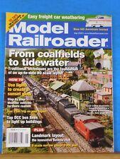 Model Railroader Magazine 2008 May Weather vehicles Lights create sunset glow DC