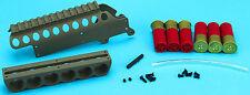 G&P Shotshell corps métallique Lot de rails pour G&P M870 fusil (court, sable) - GP-SHP010S