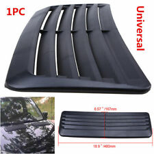 Car Decorative Air Flow Intake Hood Scoop Vent Bonnet Cover Black for Toyota VW
