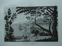1845 Zuccagni-Orlandini Veduta di Villafranca