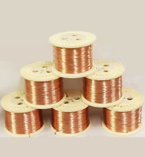 Round Copper Wire (Half Hard) Gauges 12 To 30 See Variations 5 To 100 Ft Coil