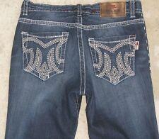 MEK Men's Jeans Jeranda Bootcut Distressed Wash Sz 34 X 31  100% Cotton