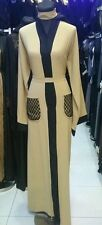 Women open front abayas.saudi arabia/dubai  abaya.Neda material size.52.54.56.58