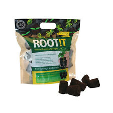 ROOTING SPONGE ROOTIT BAG of 50 propagation plug cube cutting seed hydroponic