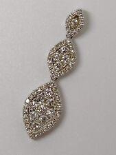 Genuine 18k White Gold Hatton Gardens 1ct Diamond Pendant 18 Carat not Pandora