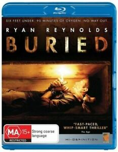 Buried - Bluray - Region B - Used