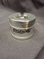 "Nos FishBone 1"" 2 Bolt High Stack Alloy Seat Clamp Collar Bmx Freestyle Ninja Gt"