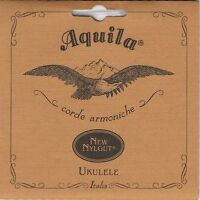 Aquila Nylgut Soprano Ukulele Strings Set 4U Regular Tuning GCEA High G Italy