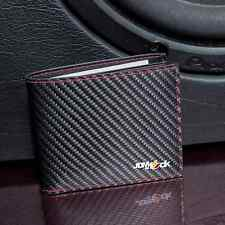 CARBON FIBRE & LEATHER WALLET CAR DRIFT FAST GIFT TRACK JDM FT86 SKYLINE