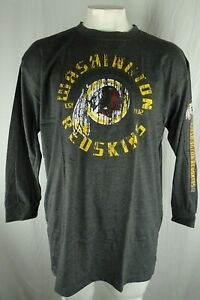 Washington Redskins NFL Men's Long Sleeve Distressed Shirt