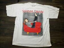 Vintage Shania Twain 1998 World Tour Pop T Shirt Tagged XL - 90s