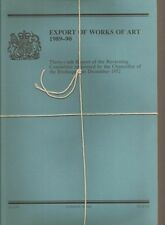 Export of Works of Art 1988-89; 1989-90 & 1990-91