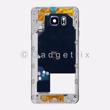 Black Samsung Galaxy Note 5 N920V N920P Middle Housing Frame Bezel Mid Chassis