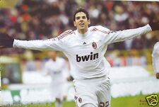 """KAKA """"CELEBRATING WITH ARMS OUT"""" POSTER -AC Milan Football,Serie A,Brazil Soccer"""