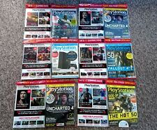 SIX SEALED OFFICIAL PLAYSTATION MAGAZINES COLLECTORS EDITIONS PS4