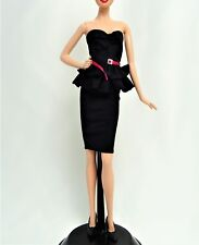 Barbie Model Muse Little Black Dress and Shoes Mint out of the Pack