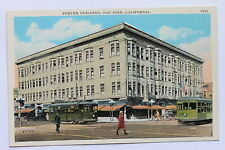 Old postcard Porter Building, San Jose, Ca