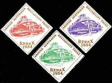 Australia Poster Stamps - 1954 REDeX Auto Reliability Trials - Set of 3      (B)