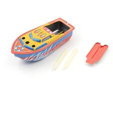 1 Set di giocattoli vintage a forma di barca a vapore e candel fu