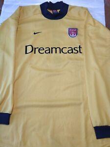 Rare Arsenal David Seaman Match Unworn Jersey Nike Premier League Champions 0102