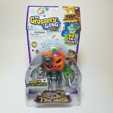The Grossery Gang Time Wars Space Jump Pumpkin Powered Up Action Figure SEALED