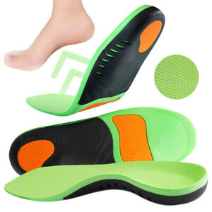 Orthotic Insoles High Arch Support Inserts Plantar Fasciitis Flat Feet Foot Pad