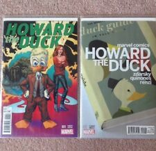 HOWARD THE DUCK #1 1:25 Val Mayerik & 1:25 Zdarsky VARIANT NM+