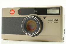【NEAR MINT】 Leica minilux Film camera Summarit 40mm f2.4 Lens From Japan #133
