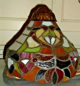 Leaded Stained Glass Lamp Shade