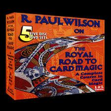 Brand New Magic DVD - Royal Road To Card Magic by R. Paul Wilson - DVD