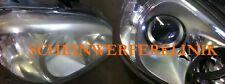 Mercedes E R Scheinwerfer Aufbereitung Polieren REPARATUR Instandsetzung L+R
