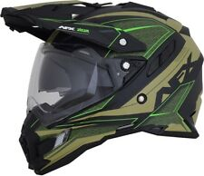AFX Adult FX-41 Eiger Dual Sport Adventure Motorcycle Helmet All Colors S-2XL