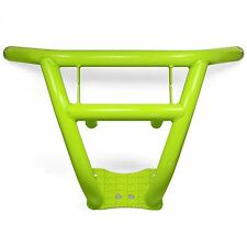 Hand Built Heavy Duty Steel Front Bumper Lime Squeeze Powdercoated for XP 1000