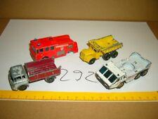 Konvolut Nr. 292 MATCHBOX-LESNEY Merryweather Fire No. 35, Dump Truck No. 6, Bed