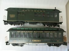 MODEL RR BACHMANN G SCALE SOUTHERN  RAILWAY  & SWANEE RIVER CARS