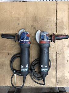 """(2) Metabo 14-125 120V  5"""" Angle Grinders"""