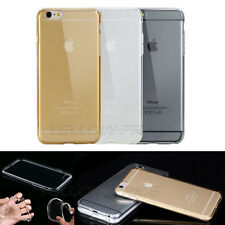 Soft Silicone TPU Ultra Thin Slim Clear Transparent Cover Case For iPh