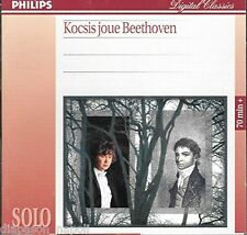 Beethoven: Sonate (Piano Sonatas) No 1, 5, 8, & 17 / Zoltán Kocsis - CD Philips