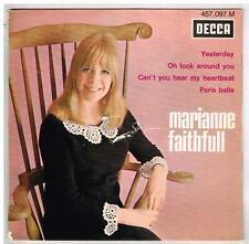 "Marianne FAITHFULL     Yesterday     7"" 45 tours EP"