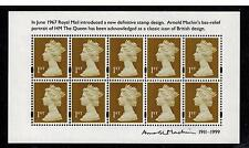MS3222 ARNOLD MACHIN  CENTENARY 2011 MINIATURE MINI SHEET